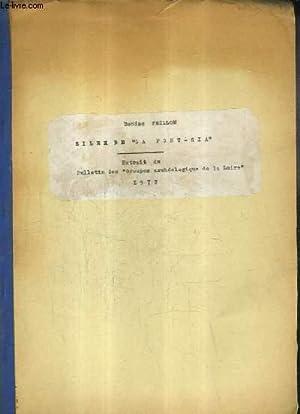 SILEX DE LA FONT - RIA - EXTRAIT DU BULLETIN DES GROUPES ARCHEOLOGIQUES DE LA LOIRE 1972.: PEILLON ...