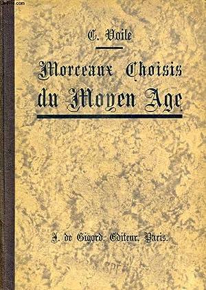 MORCEAUX CHOISIS DU MOYEN AGE: VOILE C.