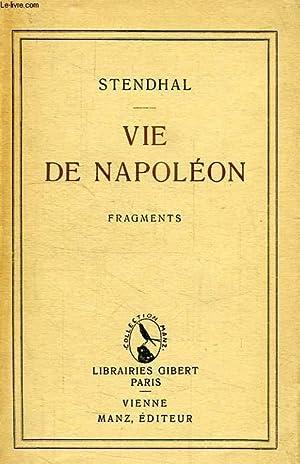VIE DE NAPOLEON: STENDHAL
