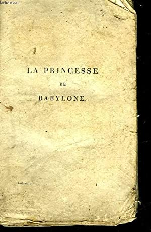 LA PRINCESSE DE BABYLONE - LE BLANC: VOLTAIRE