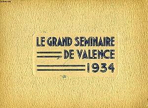 LE GRAND SEMINAIRE DE VALENCE, 1934: COLLECTIF
