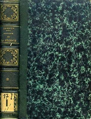 CHRONIQUE DE LA REGENCE ET DU REGNE DE LOUIS XV (1718-1763), TOME VIII (1762-1763): BARBIER EDMOND ...