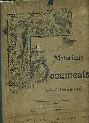 MATERIAUX ET DOCUMENTS - D'ART DECORATIF +: COLLECTIF