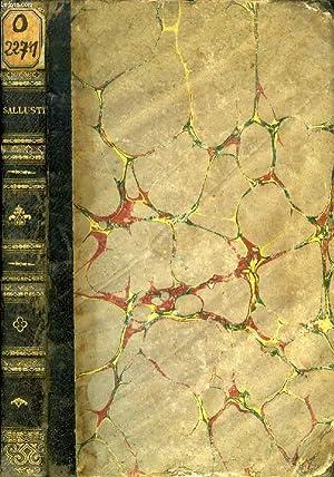 CAII SALLUSTII CRISPI OMNIA QUAE EXTANT OPERA: SALLUSTIUS C. CRISPUS, Par Th. BURETTE