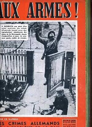 AUX ARMES ! - N°9 - JUIN 1945 - BULLETIN DE LIAISON DES FORCES FRANCAISES DE L'INTERIEUR ...