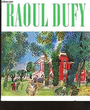 RAOUL DUFY - 1877-1953 - EXPOSITION A: COLLECTIF