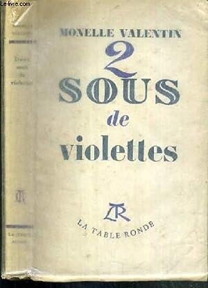 2 SOUS DE VIOLETTES: VALENTIN MONELLE