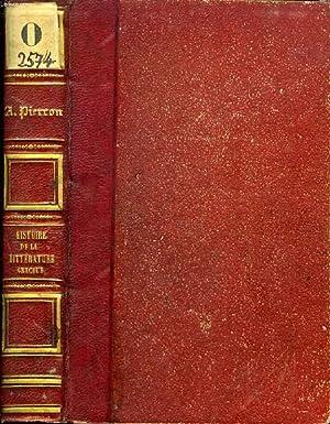 HISTOIRE DE LA LITTERATURE GRECQUE: PIERRON ALEXIS