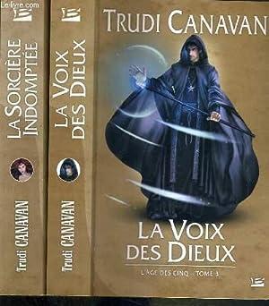 LA SORCIERE INDOMPTEE - L'AGE DES CINQ - 2 TOMES - 2 + 3: CANAVAN TRUDI