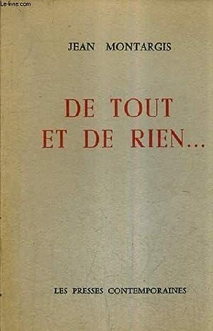 DE TOUT ET DE RIEN.: MONTARGIS JEAN