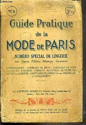 GUIDE PRATIQUE DE LA MODE DE PARIS: COLLECTIF