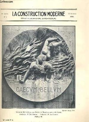 LA CONSTRUCTION MODERNE - 45e VOLUME (1929-1930): RUMLER A. /