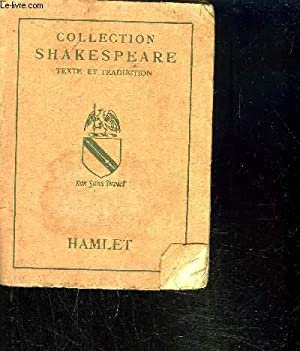 HAMLET / COLLECTION SHAKESPEARE: SHAKESPEARE