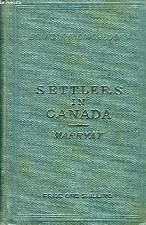 THE SETTLERS IN CANADA: MARRYAT CAPITAINE