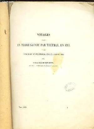 VOYAGES FAITS EN TERRE-SAINTE PAR THETMAR, EN 1217 - TOME XXV ou TOME XVI.: LE BARON JULES DE ...