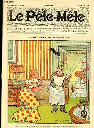 Le Pêle-Mêle, 16è année, N°28 - La chauve-souris: MOTET