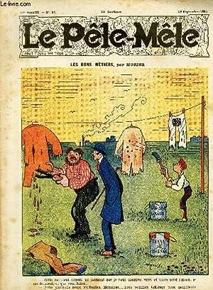 Le Pêle-Mêle, 17è année, N°37 - Les bons métiers: MORISS