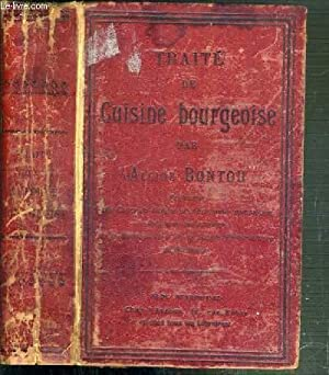 TRAITE DE CUISINE BOURGEOISE: BONTOU ALCIDE