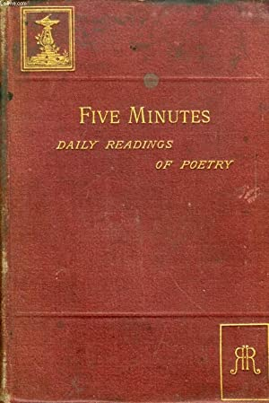 FIVE MINUTES, DAILY READINGS OF POETRY: COLLECTIF