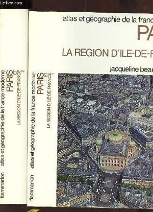 LA REGION D'ILE DE FRANCE - EN: BEAUJEU-GARNIER JACQUELINE
