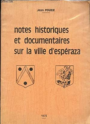 NOTES HISTORIQUE EDT DOCUMENTAIRES SUR LA VILLE: FOURIE JEAN
