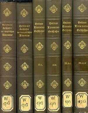 LITERATURGESCHICHTE DES ACHTZEHNTEN JAHRHUNDERTS, 6 BÄNDEN: HETTNER HERMANN