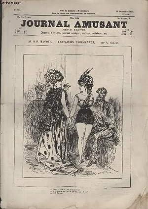 Le Journal amusant N°851 - Au bal masqué - Fantaisies parisiennes: GREVIN