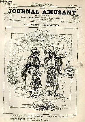 Le Journal amusant N°1603 - Aux champs: GREVIN
