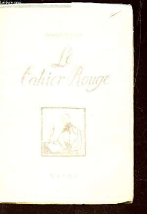 LE CAHIER ROUGE: CONSTANT BENJAMIN