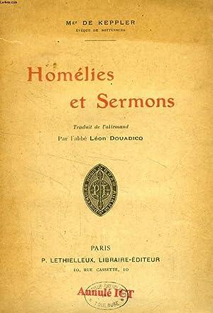 HOMELIES ET SERMONS: KEPPLER Mgr DE