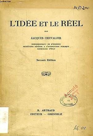 L'IDEE ET LE REEL: CHEVALIER JACQUES