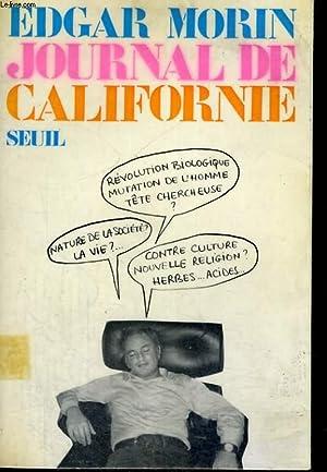 Journal de Californie: MORIN Edgar