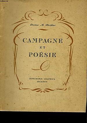 CAMPAGNE ET POESIE: BERTHIER A.