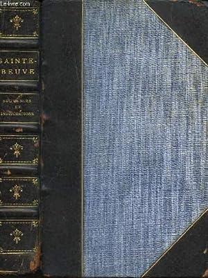 SOUVENIRS ET INDISCRETIONS - LE DINER DU VENDREDI SAINT / NOUVELLE EDITION: SAINTE-BEUVE C.A.