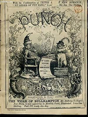 PUNCH OR THE LONDON CHARIVARI - N°1469 - VOLUME THE FIFTY-SEVENTH - SEPTEMBER 4, 1869 - make ...