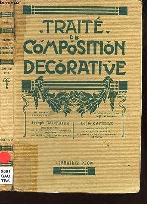 TRAITE DE COMPOSITION DECORATIVE: GAUTHIER JOSEPH /