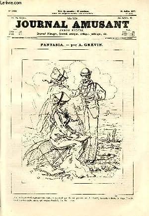 Le Journal amusant N°1090 - Fantasia - Les canifs: GREVIN