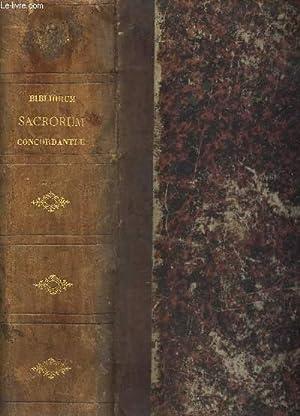 CONCORDANTIAE BIBLIORUM SACRORUM Vulgatae editionis ad recognitionem: DUTRIPON F.P.