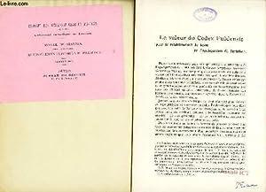 LA VALEUR DU CODEX FULDENSIS pour le retablissement du texte de l'Apologeticum de Tertullien &...