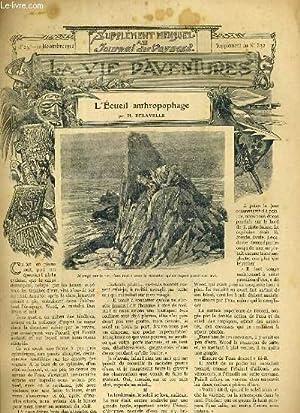 SUPPLEMENT MENSUEL AU JOURNAL DES VOYAGES LA VIE D'AVENTURES - N°23 - 10 NOVEMBRE 1912 - ...