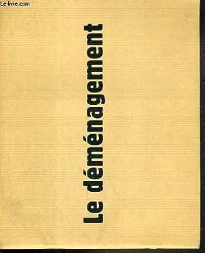PLAQUETTE DE FILM - LE DEMENAGEMENT - un film de olivier doran avec dany boon, emmanuelle devos, ...