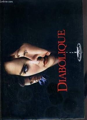 PLAQUETTE DE FILM - DIABOLIQUE - un film de jeremiah chechik avec sharon stone, isabelle adjani, ...