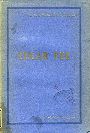 EDGAR POE, CONTES ET POESIES: POE Edgar Allan,