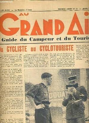 AU GRAND AIR - GUIDE DU CAMPEUR ET DU TOURISTE - N°16 - JEUDI 22 JUIN 1939 - 1ere ANNEE - du ...