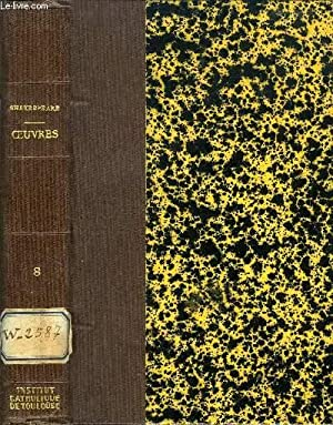 OEUVRES COMPLETES DE SHAKESPEARE, TOME VIII: SHAKESPEARE, Par E. MONTEGUT