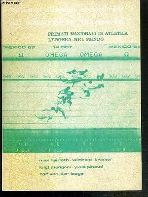 PRIMATI NAZIONALI DI ATLETICA LEGGRA NEL MONDO: HEILRATH MAX -
