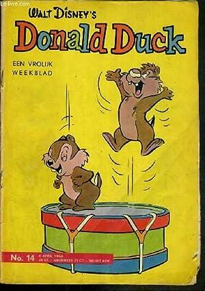 DONALD DUCK - EEN VROLIJK WEEKBLAD - N° 14 - 6 APRIL 1963 - KNABBEL EN BABBEL - TEXTE ...