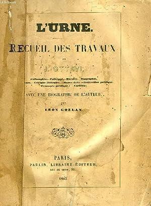 L'URNE, RECUEIL DES TRAVAUX DE J. OTTAVI: OTTAVI J.