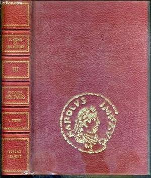EPOQUES MEDIEVALES (Ve-XVe SIECLE) - TOME III. L'OCCIDENT BARBARE ET CAROLINGIEN - BYZANCE ET L...