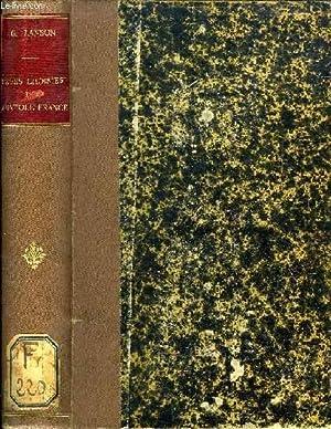 PAGES CHOISIES DE ANATOLE FRANCE: FRANCE ANATOLE